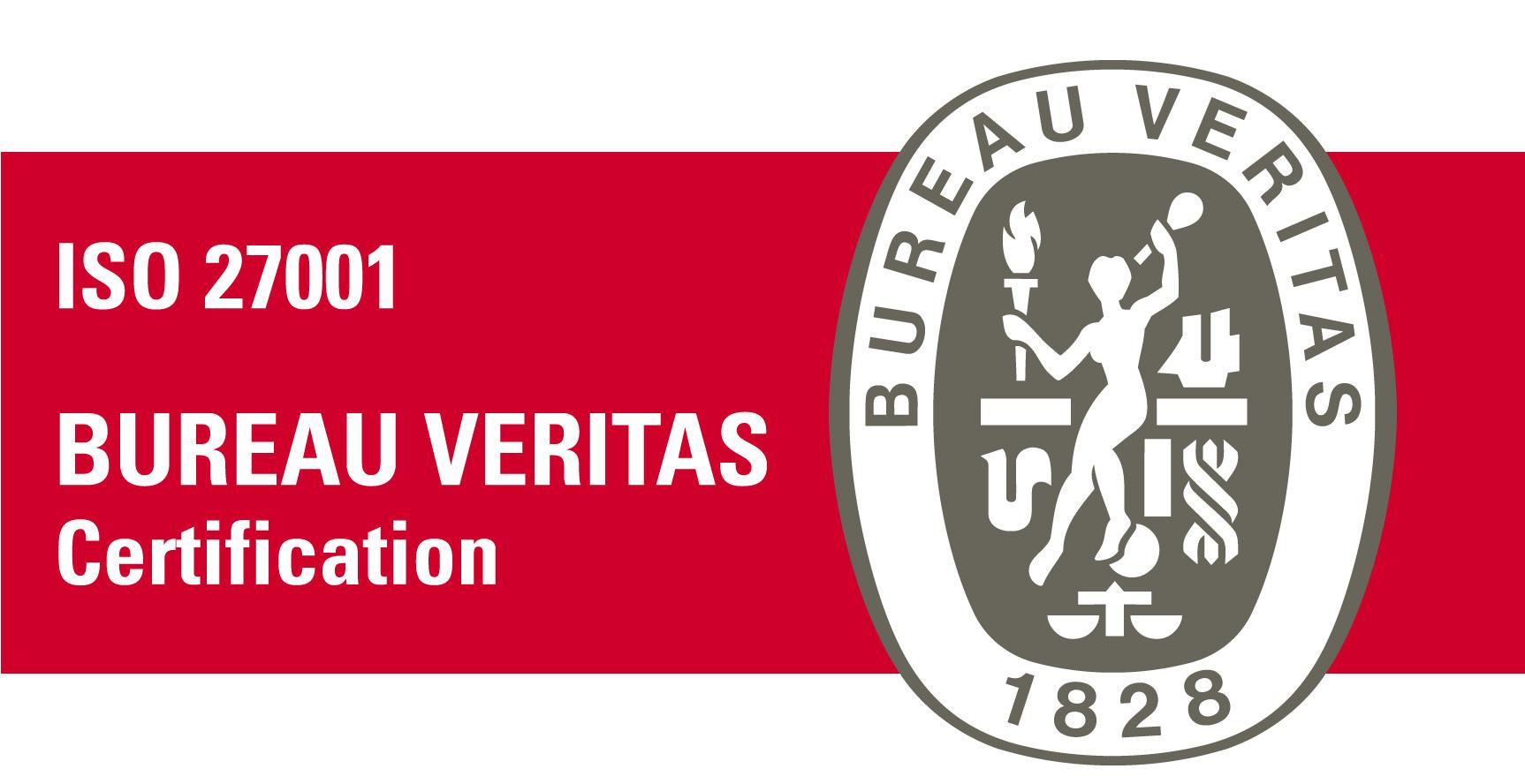 Bureu Veritas Certificate logo